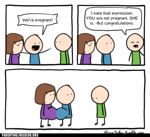 comic congratulations were-pregnant - 6275963136