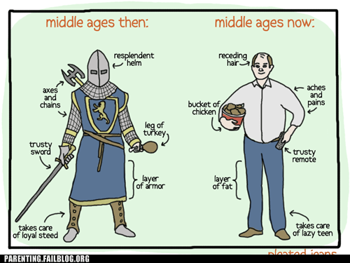 bald fat knight middle ages - 6275971840