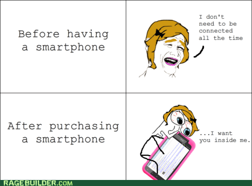 cell phone phone Rage Comics smartphone - 6276050176