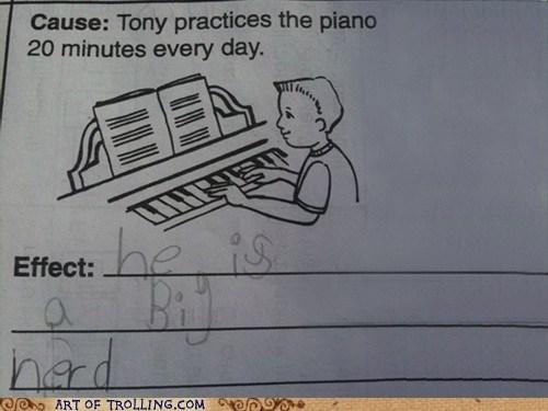 IRL nerd piano truancy story