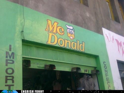 dolan dolan duck donald duck McDonald's - 6276107776