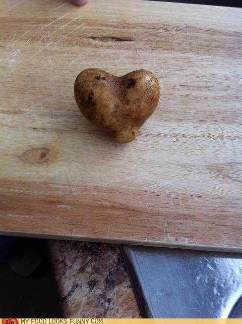 heart potato - 6276148224