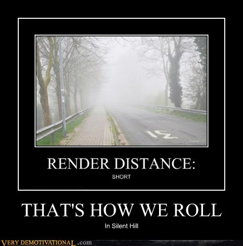 creepy fog hilarious silent hill - 6276282368