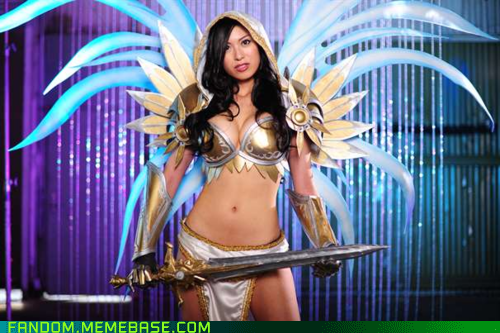 cosplay,diablo 3,tyrael,video games
