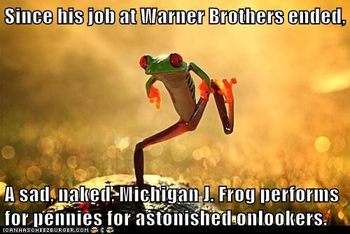 dancing,frog,michigan-j-frog,warner brothers
