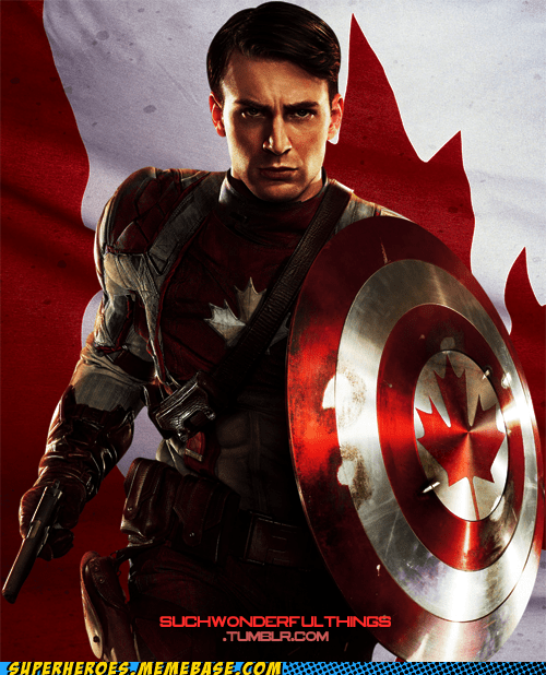 aboot Awesome Art Canada captain america - 6276331520