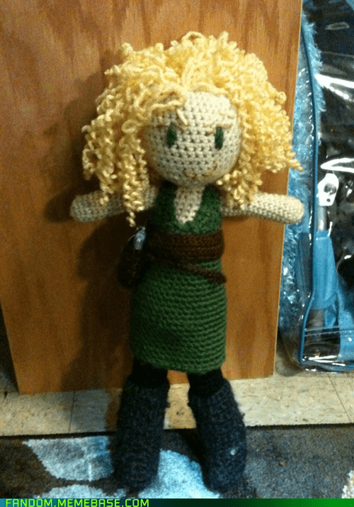 doctor who Fan Art River Song yarn yarn art - 6276376320
