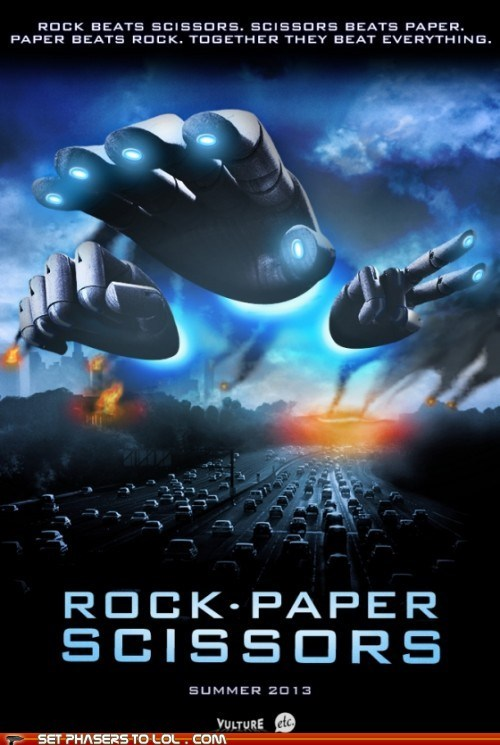 alien battleship best of the week game hands rock paper scissors science fiction - 6276431104