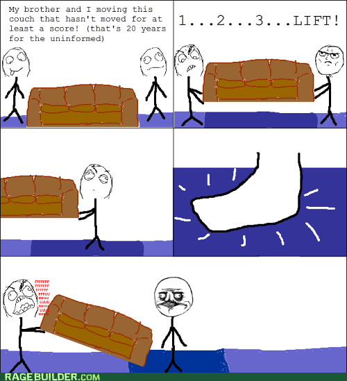 carpet,couch,me gusta,Rage Comics,wear and tear