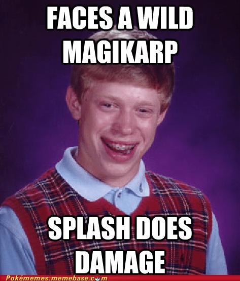 bad luck brian magikarp meme Memes splash - 6276532224