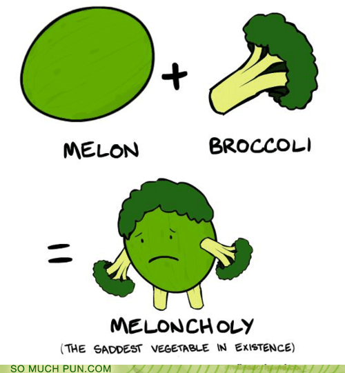broccoli,combination,Hall of Fame,homophones,melancholy,melon,portmanteau,prefix,suffix