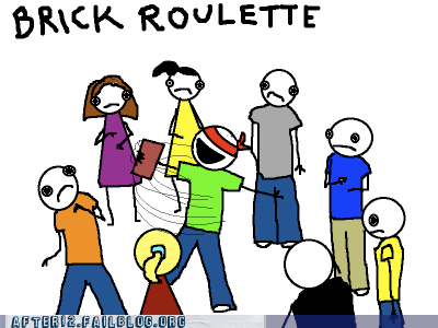 brick roulette party game roulette russian roulette - 6276555776