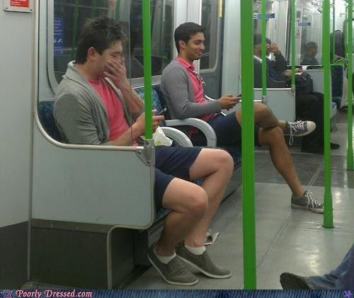 fashion public transit same outfit Subway texting