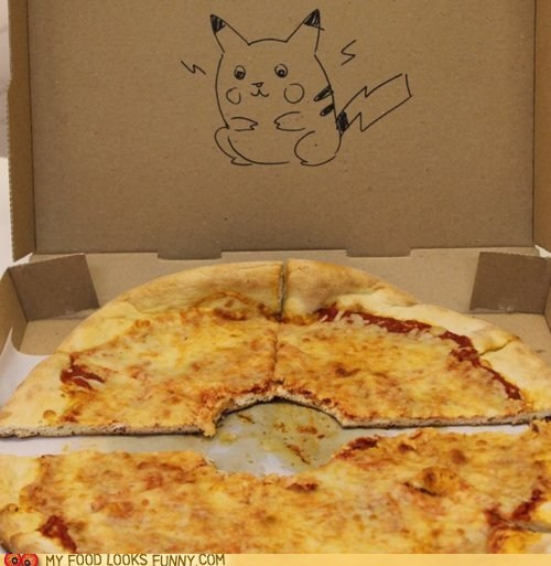 cheese pikachu pizza pokeball Pokémon - 6276697600
