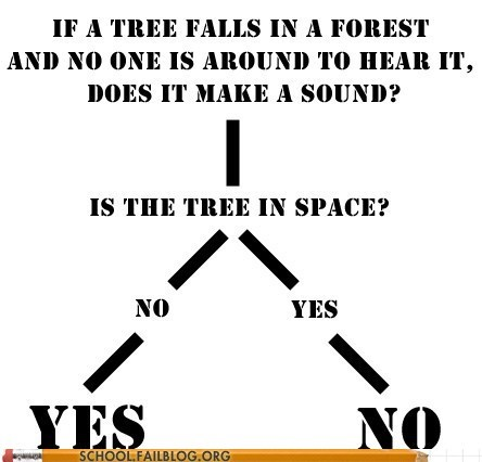 if a tree falls in a fore if a tree falls in a forest no sound in space noise tree in space - 6276754176