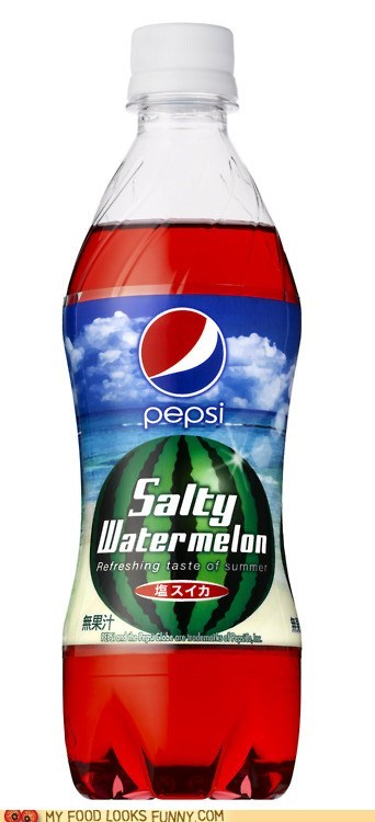 asia flavor pepsi salty watermelon soda weird - 6276780544