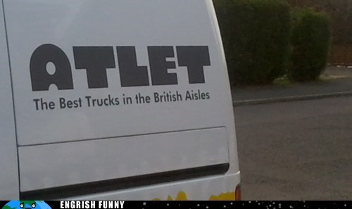 aisles atlet britain british isles cleanup on aisle 4 england Ireland isle 4 isles scotland trucks UK united kingdom Wales