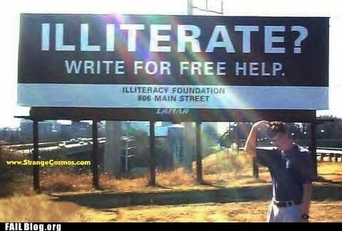 illiterate,sign,write for free help