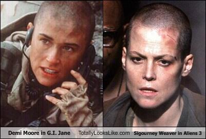 actor Aliens celeb demi moore funny sigourney weaver TLL - 6277137920