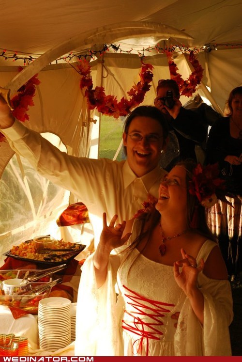 funny wedding photos medieval swords - 6277208320