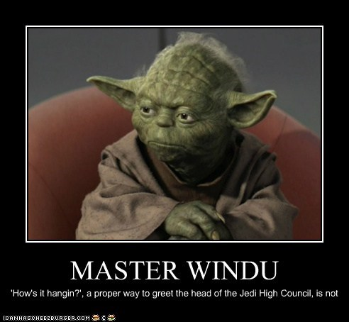 council disappointment hows-it-hanging inappropriate Jedi Mace Windu proper star wars yoda - 6277287936