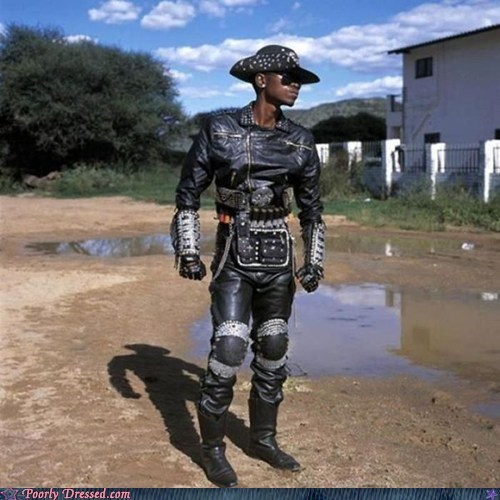africa,BAMF,fashion,leather,metal