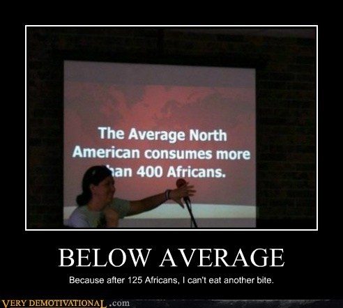 africans americans below average hilarious Statistics