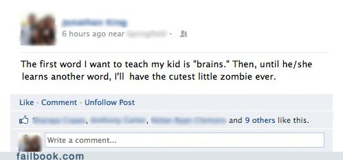 brains parenting zombie - 6277583104