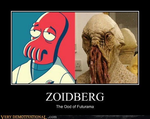 ZOIDBERG The Ood of Futurama