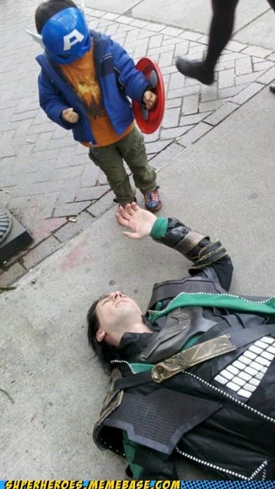 captain america costume heroes kids loki Super Costume - 6277848832