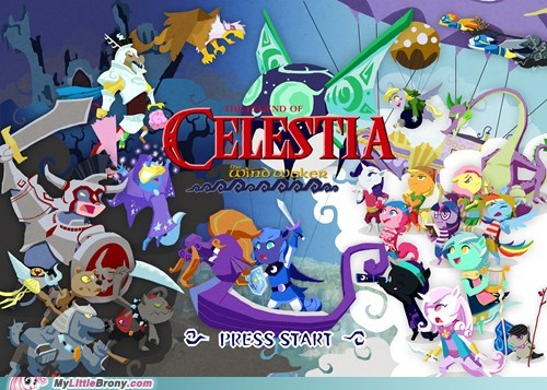amazing,art,celestia,crossover,video games,zelda