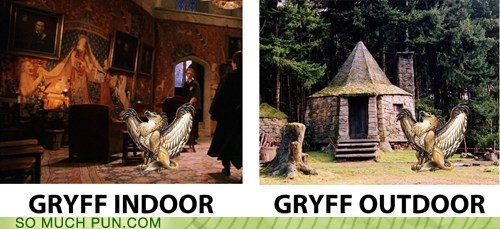 gryffindor Harry Potter homophone house indoor opposites outdoor suffix - 6279066880