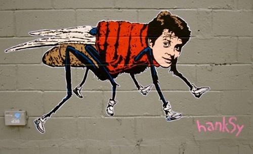 Hanksy,marty mcfly,Street Art