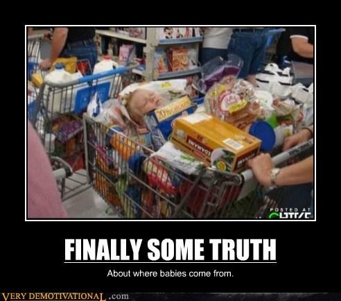 Babies cart hilarious shopping truth - 6279243264