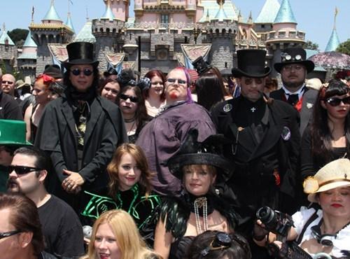 goth day at disneyland,strange bedfellows