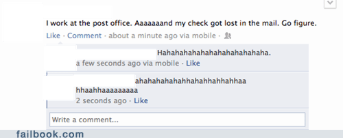 checks,post office,failbook