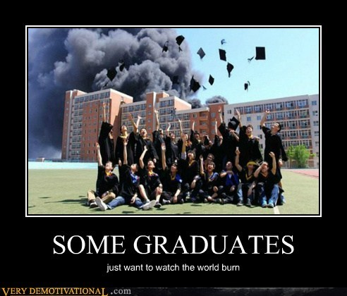 fire graduates hilarious school wtf - 6279619584