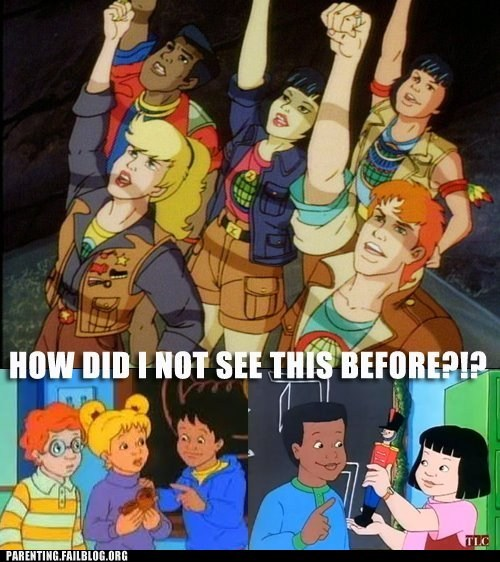 captain planet,cartoons,magic school bus,racial diversity