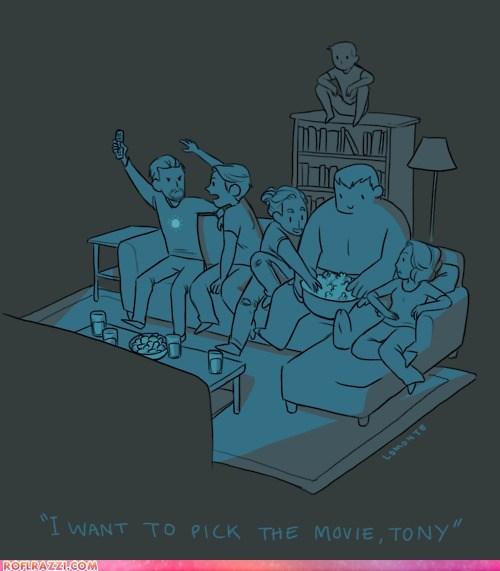 art,funny,illustration,superhero,The Avengers