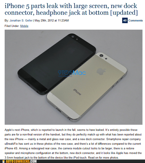 iphone 5 iphone 5 rumors larger screen parts leak - 6279725056
