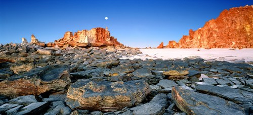 australia desert moon rocks - 6279742464