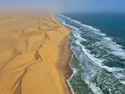 desert ocean sand dunes South Africa - 6279815168
