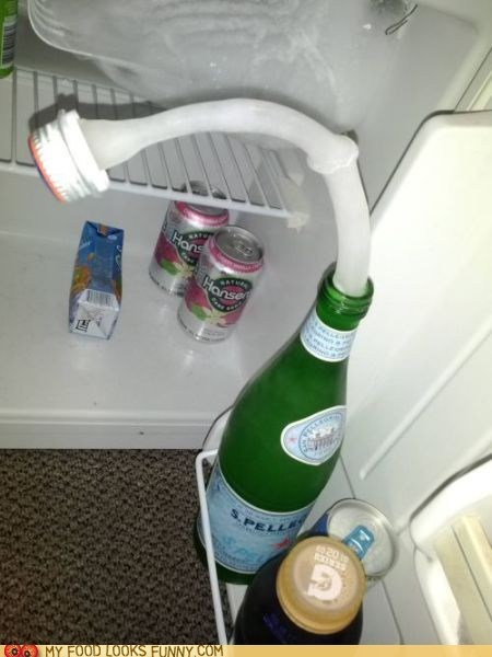 fountain,freezer,frozen,pellegrino,water