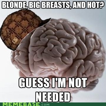 attractive,girls,people,scumbag brain