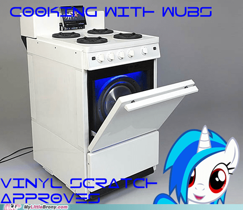 cooking with wubs food oven the internets vinyl scratch - 6279963904