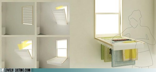 blinds drying laundry rack window - 6279966976