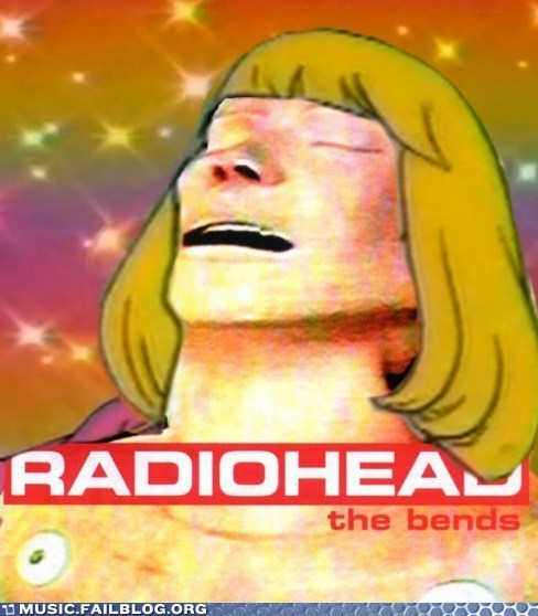 radiohead the bends - 6279977472