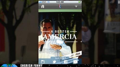 a better amercia,amercia,iphone app,Mitt Romney