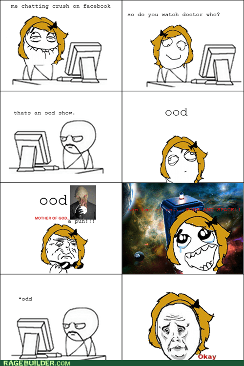 doctor who,facebook,Rage Comics,relationships,Whovian