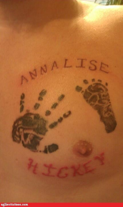 annalise,footprint,handprint,hickey